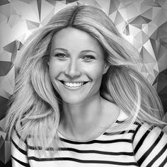 Gwyneth Paltrow Digital Drawing by JoeDieBestie.deviantart.com on @DeviantArt