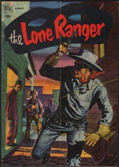 The Lone Ranger Vintage Comic #50 - Aug 1952