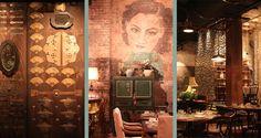 Interior by Sibella Court... Mr. Wong - Chinese Cantonese restaurant in Sydney CBD