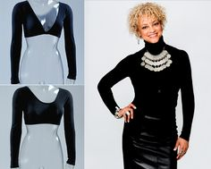Sleevey Wonders - Basic Long Sleeve Black Jersey Sleevey Wonders - Plus Size, $51.00 (http://www.sleeveywonders.com/basic-long-sleeve-jersey/basic-long-sleeve-black-jersey-plus-size-sleevey-wonders/)