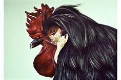 THE IMAGE OF AN ANIMAL by the Slovak artist ELISE JURKOVIC. More on valkonsky.com