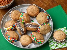 Chocolate Chip Cookie Ice Cream Sandwiches Recipe : Ree Drummond : Food Network - FoodNetwork.com