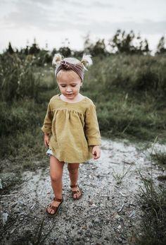 Girls Handmade Linen Blouse | MiyaAndMa on Etsy