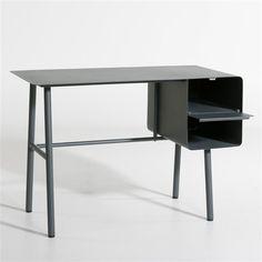 bureau secr taire pitre ch ne et m tal bureaux. Black Bedroom Furniture Sets. Home Design Ideas