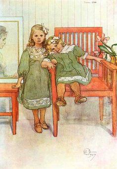 Carl Larsson (1853 – 1919, Swedish)