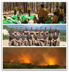 Yarnell Fire Fighters | Nineteen members of an elite Granite Mountain Hotshots fire crew died ...