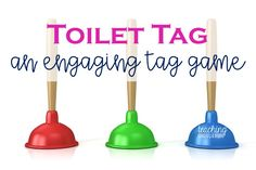 Tag games for kids are perfect for physical education. Toilet tag is a never ending tag game that is perfect for kindergarten and primary grades. Perfect for outdoor learning! Elementary Physical Education, Physical Education Activities, Primary Activities, Elementary Schools, Motor Activities, Health Education, Pe Games Elementary, Education Jobs, Movement Activities
