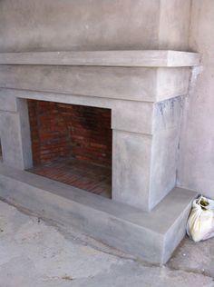 Plaster and klompie brick fireplace Brick Fireplace, Plaster, Fireplaces, Sweet Home, Home Decor, Plastering, Fireplace Set, Fire Places, Decoration Home