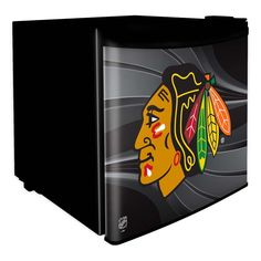 Chicago Blackhawks Dorm Room Mini Fridge