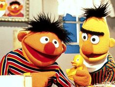 Ernie and Bert and the Rubber Ducky