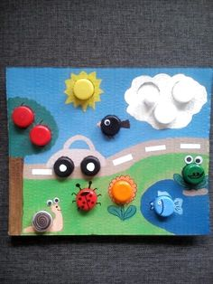 Geobord in 5 Minuten Kinderpsychologe, Toddler Learning Activities, Montessori Activities, Infant Activities, Activities For Kids, Motor Activities, Kids Crafts, Preschool Crafts, Kids Education, Early Education