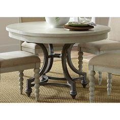 Liberty Furniture Bridgeport Round Dining Table - 731-T4254