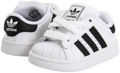 adidas Kids - Superstar 2 Core (Infant/Toddler) (Running White/Black) - Footwear on shopstyle.com