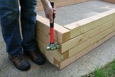 Build a raised garden bed with just a few common household tools in a couple of hours. Growing food has never been so much fun.