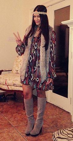 Boho Cher Halloween costume