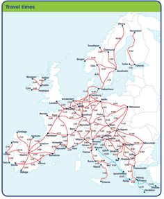 Travel Europe by Train