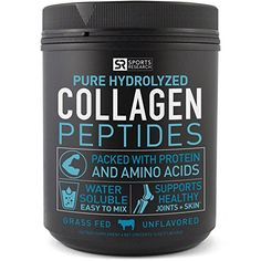 Premium Collagen Peptides GrassFed Certified Paleo Friendly NonGmo and Gluten Free Unflavored and Easy to Mix *** Check out the image by visiting the link. Coconut Health Benefits, Natural Antibiotics, Belleza Natural, Amino Acids, Healthy Skin, Healthy Life, Health Tips, Gut Health, Mans Health