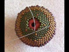 Download video: Peyote Beaded Bead - Beadwork