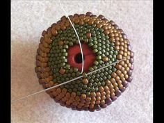 Peyote Beaded Bead - Beadwork