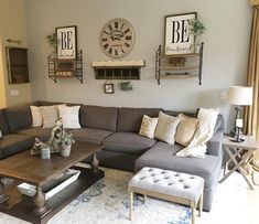 7 Delightful Tips AND Tricks: Small Living Room Remodel Tiny House living room remodel before and after french doors.Living Room Remodel On A Budget Backyard Ideas living room remodel on a budget how to build.Living Room Remodel With Fireplace Spaces. Living Room Remodel, Home Living Room, Living Room Designs, Living Room Decor Grey Couch, Living Walls, Living Area, Inspiration Room, Room Decor For Teen Girls, Muebles Living