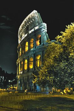 Colosseum at Night | Flickr – Compartilhamento de fotos!