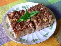 Jablkový koláč bez mléka a vajec