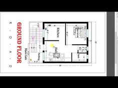 Little House Plans, 2bhk House Plan, Unique House Plans, 3d House Plans, Duplex House Plans, Small House Plans, House Wall Design, Duplex House Design, Unique House Design