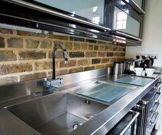 stainless steel worktops - Google Search