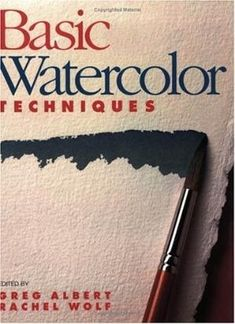 Basic Watercolor Techniques (Art instruction): Intended for beginners, this book offers suggestions on equipment and techniques for creating different textures, and gives tips on how to actually see what is being painted. Watercolor Projects, Watercolor Tips, Watercolour Tutorials, Watercolor Techniques, Watercolour Painting, Painting Techniques, Watercolors, Watercolour Illustration, Drawing Projects