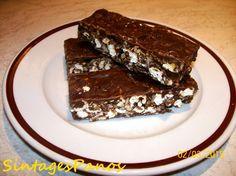 Νηστίσιμες Μπάρες δημητριακών με σοκολάτα! | Healthy Desserts, Granola, Breakfast Recipes, Caramel, Food And Drink, Sweets, Cooking, Health Desserts, Sticky Toffee