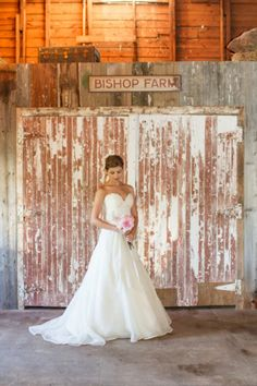 Done Brilliantly - Rustic bridal portraits by J. Harper Photography