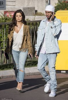 Popular! They might have spent hours splashing the cash at Saint Laurent on Friday but Tyga and his rumoured new girl Demi Rose had no such luck when they attempted to hit the shops for a second day in Cannes on Saturday