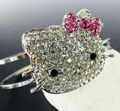 Hello Kitty Crystal Bracelet