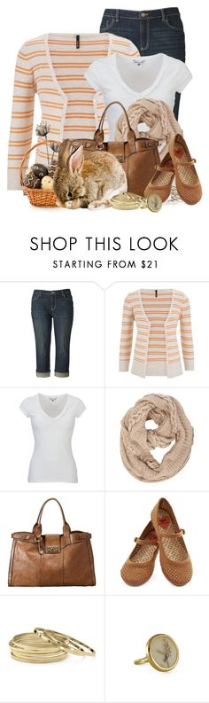 """Spring"" by lilarose111 ❤ liked on Polyvore featuring Simply Vera, maurices, White Stuff, Dorothy Perkins, FOSSIL and Palm Beach Jewelry"