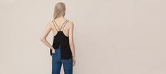 39 tl BLACK TOP WITH CUTOUT BACK - T-SHIRTS AND TOPS - WOMAN - PULL&BEAR Turkey