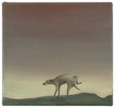Boring landscape, 25 x 27 cm, oil on canvas Oil On Canvas, Contemporary Art, Moose Art, Landscape, Artist, Painting, Animals, Kunst, Painting Art