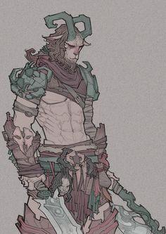 Fantasy Characters design, Veronica Bonacini on ArtStation at https://www.artstation.com/artwork/gXQ3E