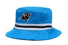 405b0756fdf Carolina Panthers Bucket Blue Stripe Black