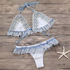 bathing suits – My WordPress Website Lace Bikini, Ruffle Swimsuit, Bikini Set, Mix And Match Bikini, Bikinis For Teens, Lace Ruffle, Triangle Bikini Top, Swimsuits, Swimwear