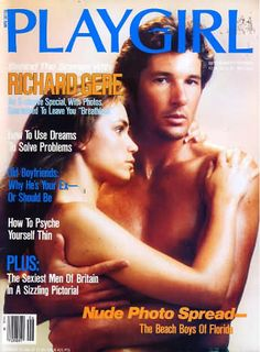Richard Gere And Valerie Kaprisky Playgirl Breathless Cover Richard Gere Young Hollywood Scenes