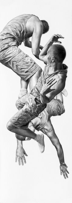 Leah Yerpe | Lepus | 18 x 50 Inches | Graphite and Ink on Paper | 2012