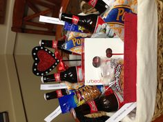 """My husbands valentines gift: I took all his favorite treats and placed them in a basket with love notes that read """"I love you because..."""" Then I purchased Dr.Dre's beats and wrote """"My Heart Beats for you"""" on the card. He loved it!!! And I got tons of compliments from other men saying they wish their wives would do that for them."""