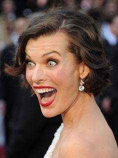 Milla Jovovich #Oscars