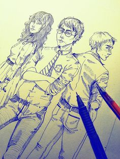 After all this time? -pen drawing
