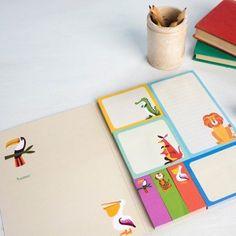 Colourful Creature Memo Pads