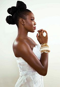 India Arie never let us down with her amazing music and her style. We are not our hair. She said it first and leads us by example.