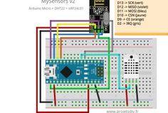 MySensors v2 : mesure de température et d'humidité (DHT11/DHT22)