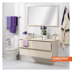 Creata pentru a se incadra cu succes in orice decor, masca pentru lavoar Lemon va pune la dispozitie spatiul de care aveti nevoie pentru a depozita lucrurile pe care le folositi constant in baie. In plus, aceasta are un design compact, completat de un aspect ce ii permite sa iasa usor in evidenta.  #mobilier #baie Vanity, Bathroom, Dressing Tables, Washroom, Powder Room, Bathrooms, Makeup Dresser, Mirror, Bath