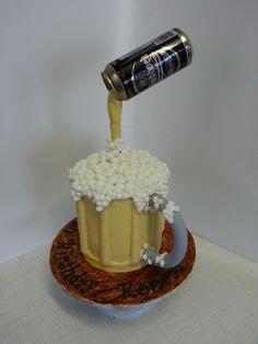 Beer Mug Birthday Cake | Flickr - Photo Sharing!