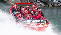Prince William and Kate Middleton experience white water rafting on Shotover Jet - hellomagazine.com